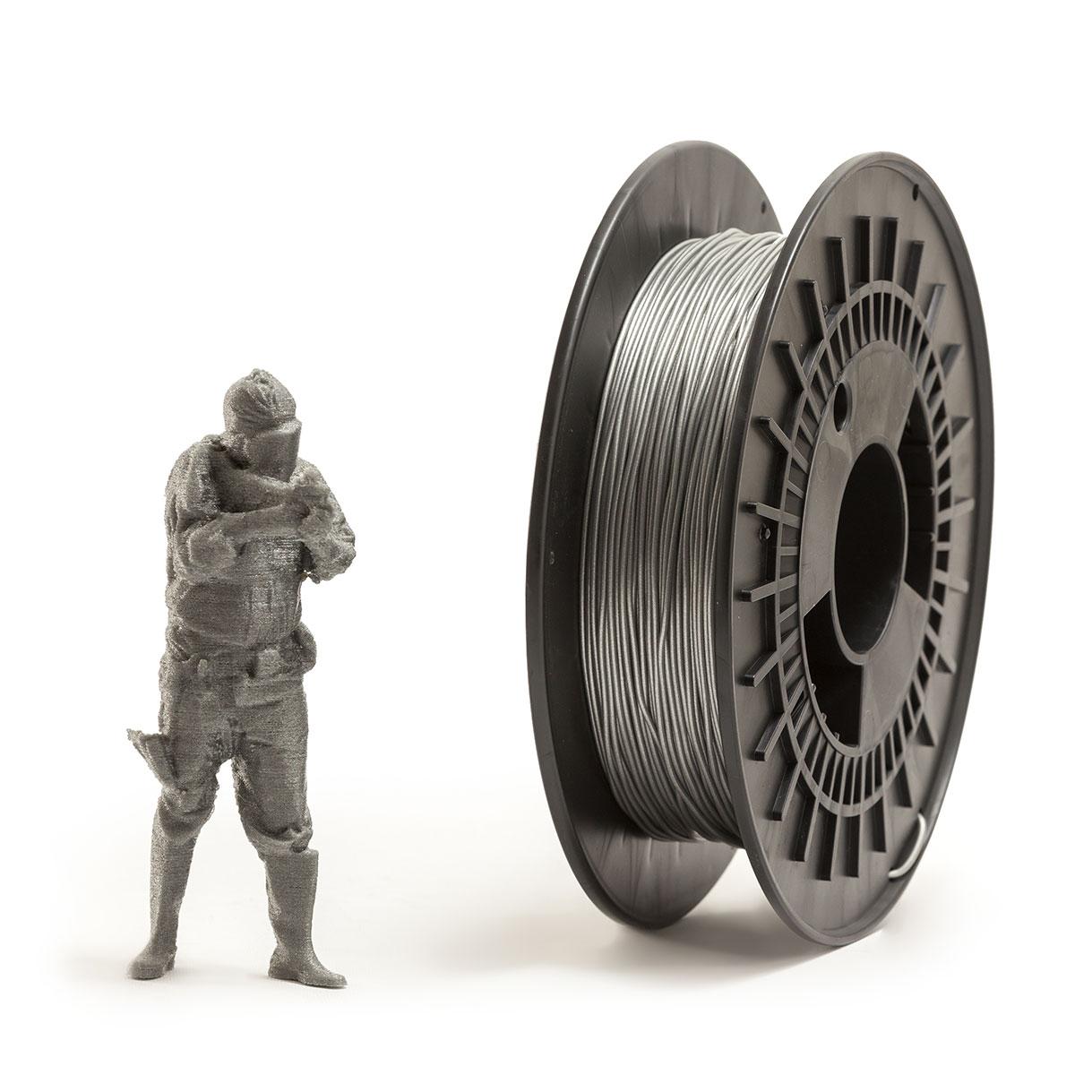 Silver TPU FLEX Filament