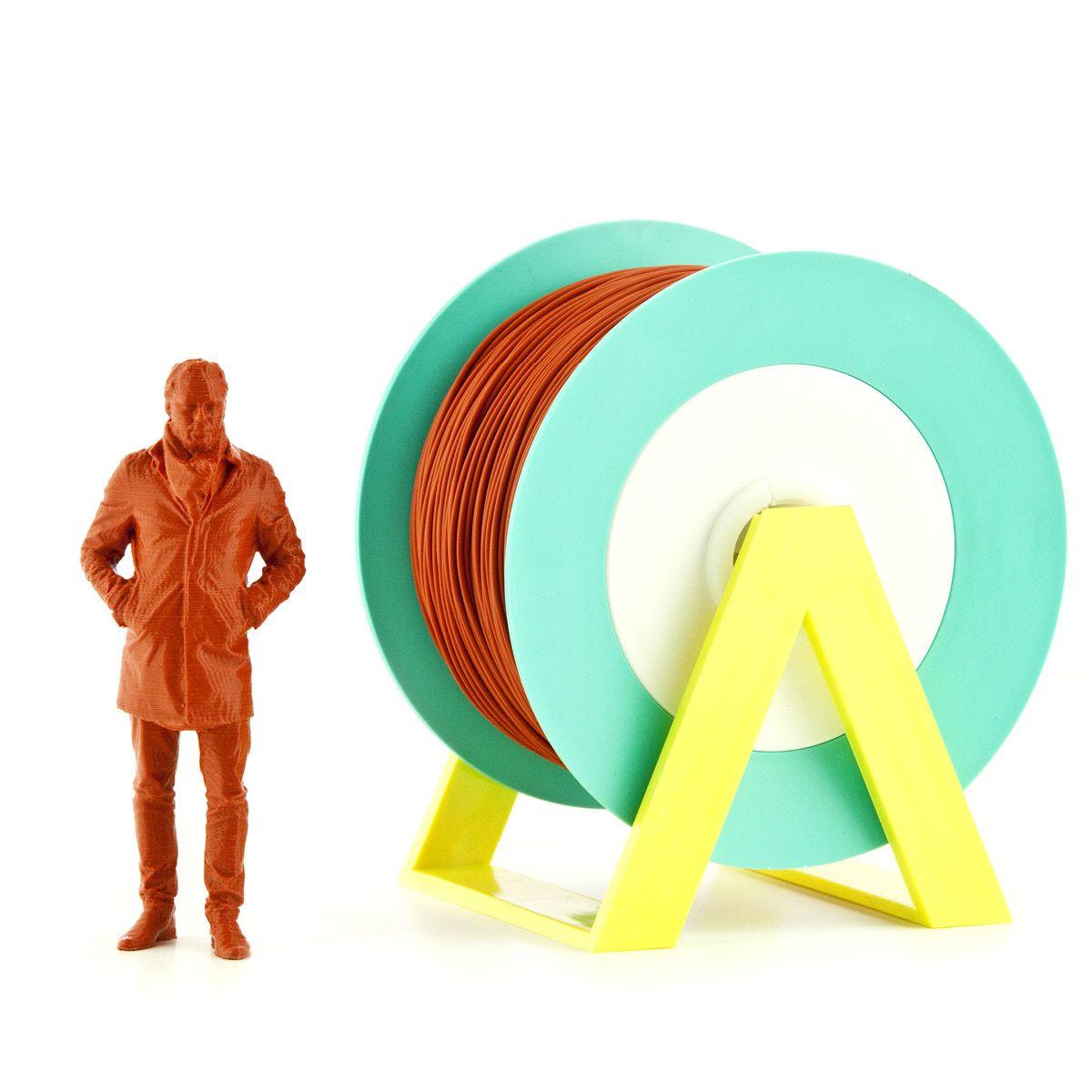PLA Filament | Color: Orange Brick
