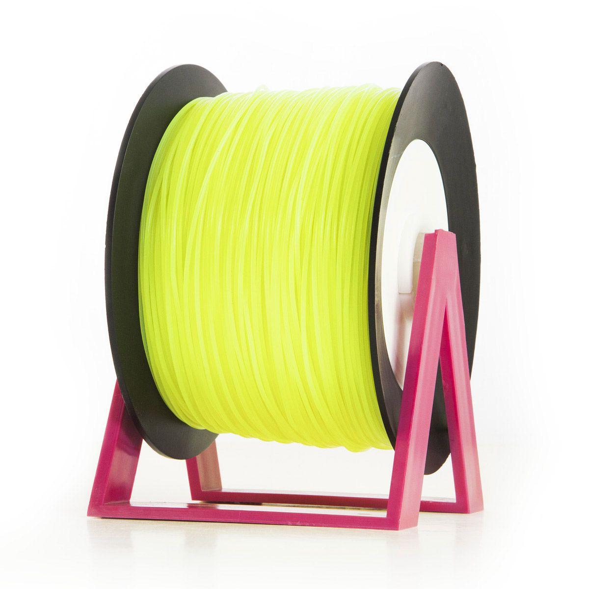 PLA Filament | Color: Fluorescent Yellow