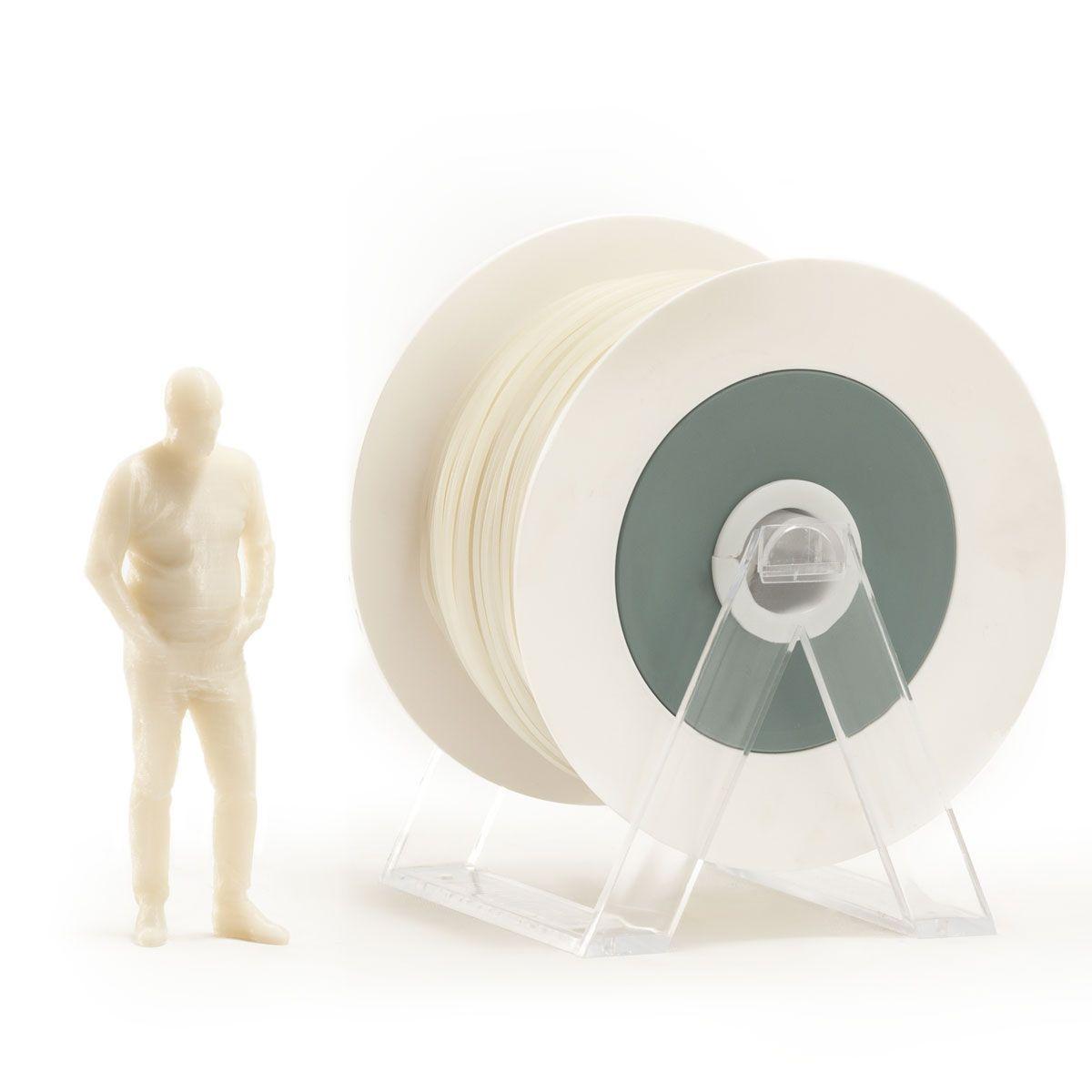 PLA Filament | Color: Photoluminescent Ivory White / Blue