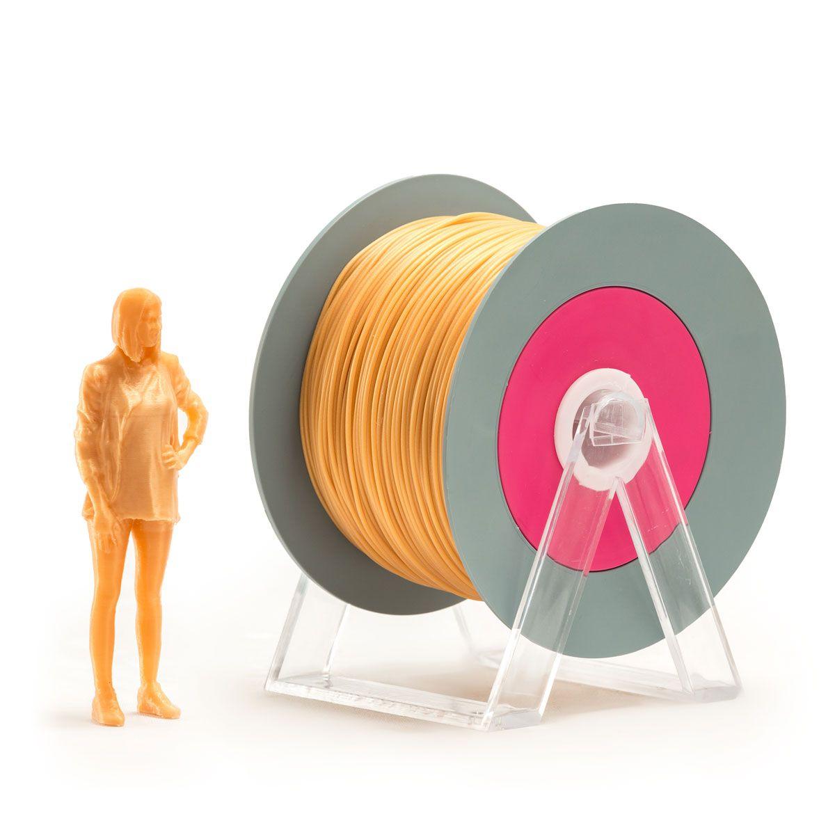 PLA Filament   Color: Iridescent Amber
