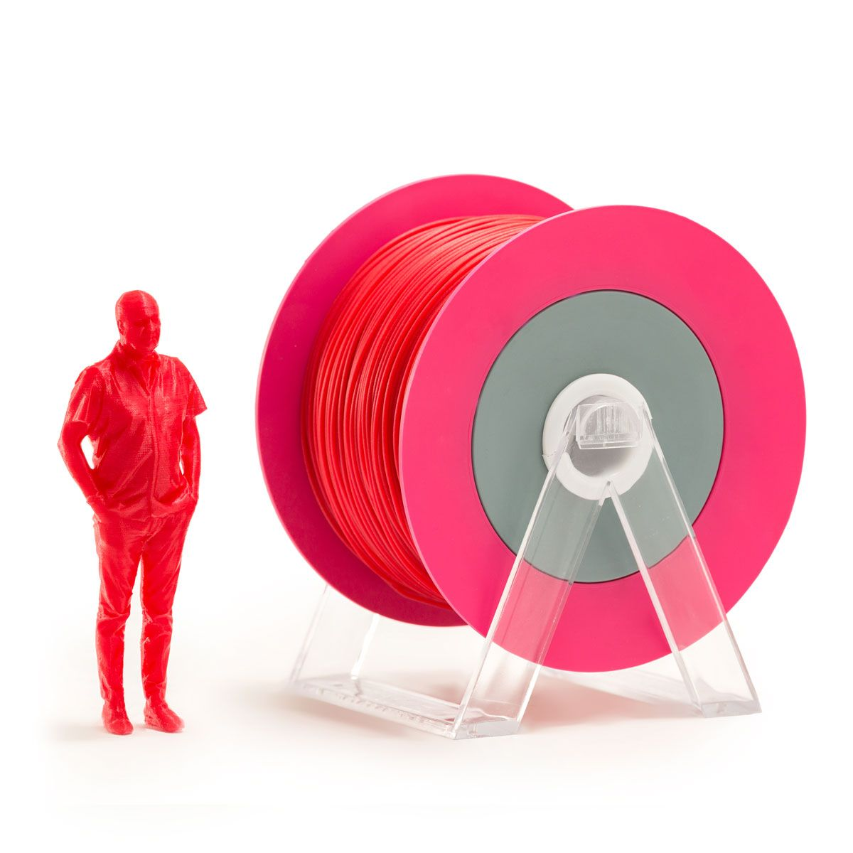 PLA Filament | Color: Glossy Red