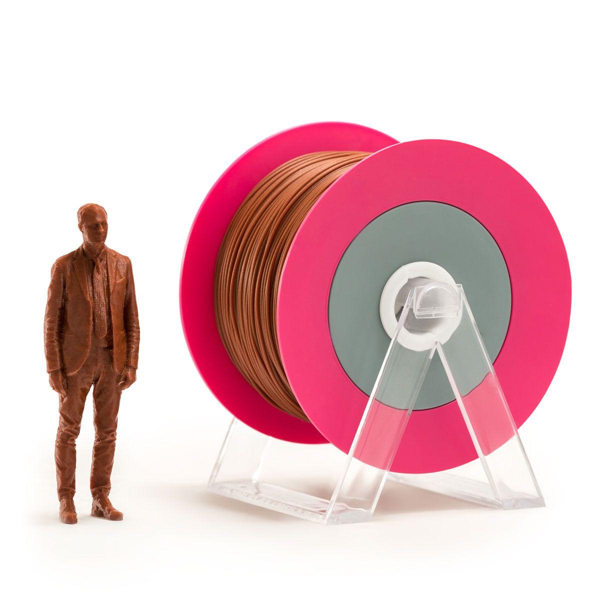 PLA Filament | Color: Glossy Brick Brown