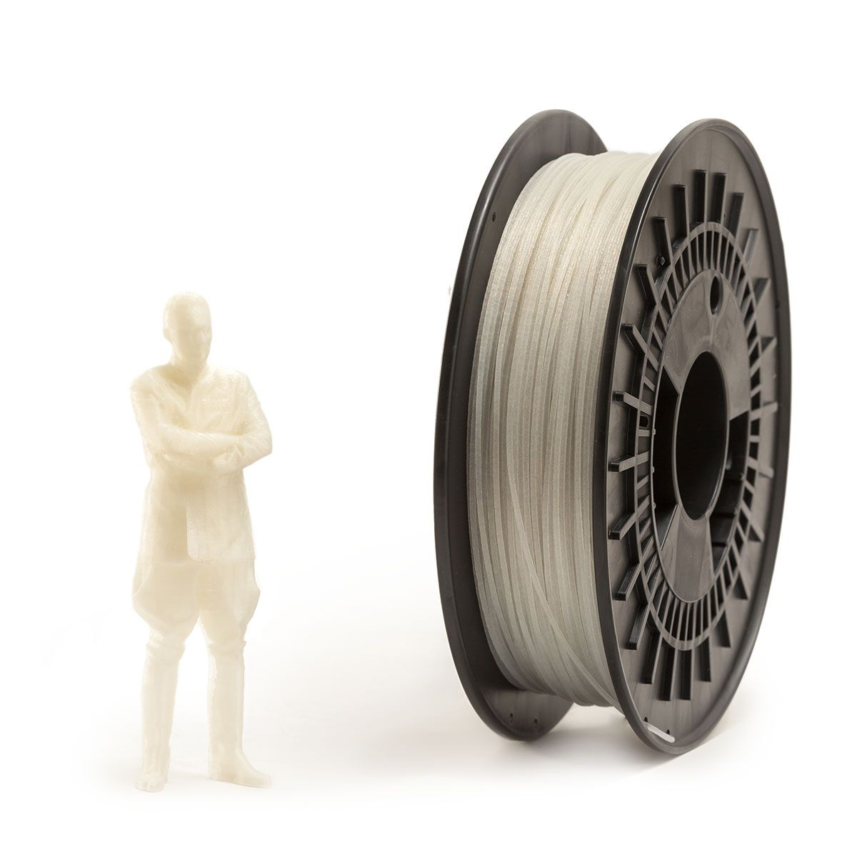 PA Filament | Color: Nylon Glass Fiber Translucent White
