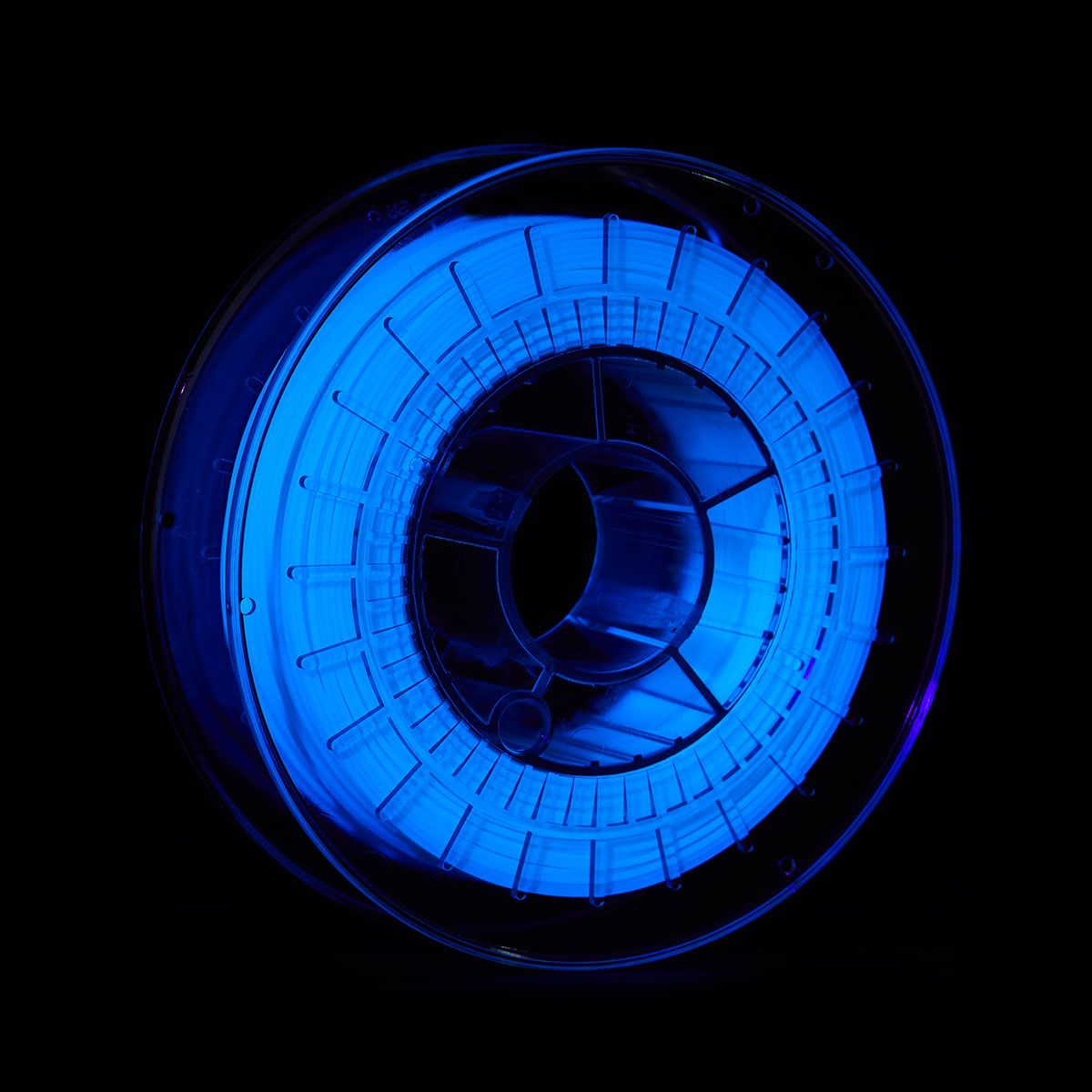 PLA UV Reactive Filament   Color: White